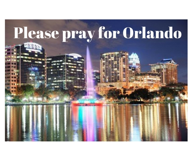 Please pray for Orlando