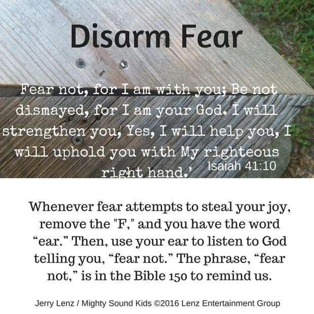 Disarm Fear - Mighty Sound Kids
