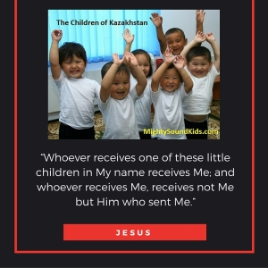"""Whoever receives one of these little children in My name receives Me; and whoever receives Me, receives not Me but Him who sent Me."""